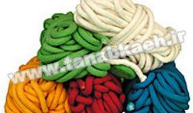 خرید طناب رنگی